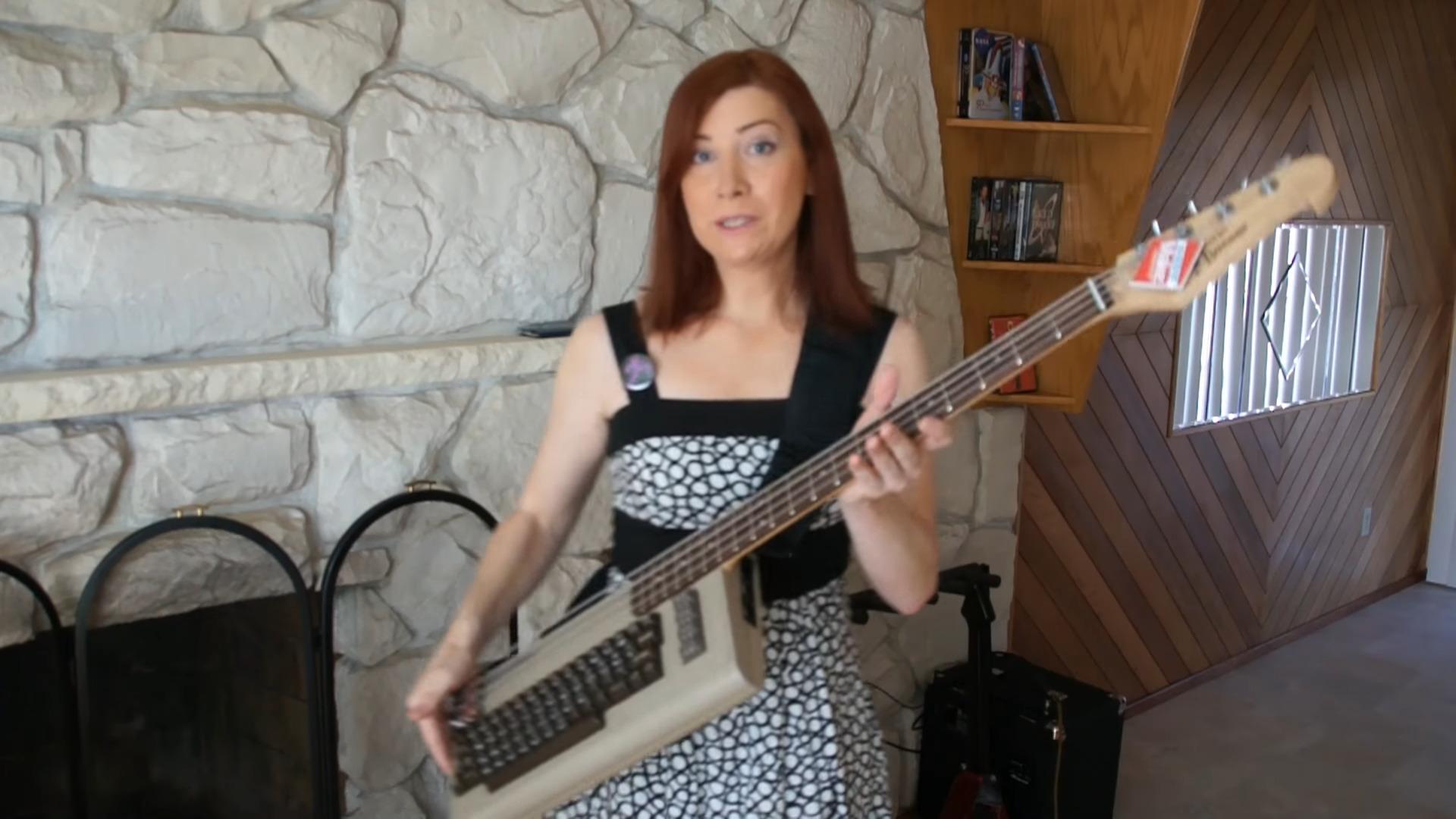 Jeri and your bass - c64 - guitar